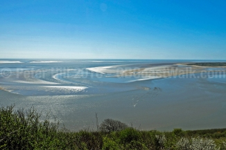 Laugharne Sands, Wharley Point